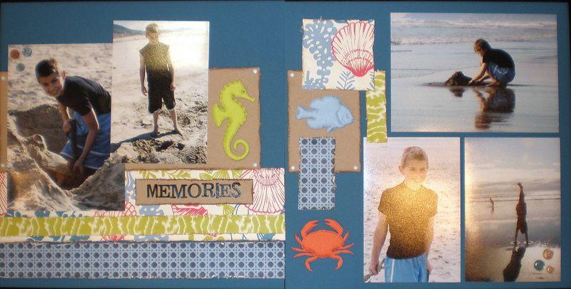 Beach memories class kit